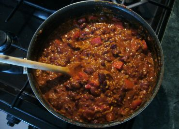 Chilli con carne Mexiko