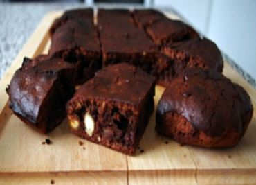 Brownies s mandličkami